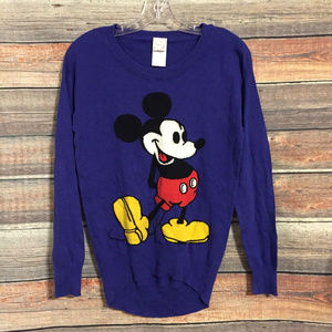 Disney Mickey Mouse blue sweater